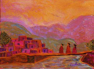 Painting - Coming Home by Carolene Of Taos