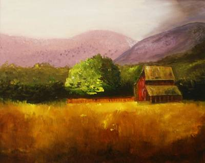 Painting - Coming Storm by W William Brown Jr
