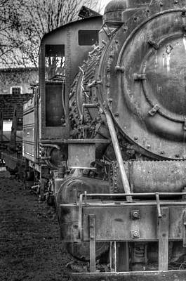 Photograph - Comox Logging Engine No.11 by R J Ruppenthal