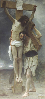 Religious Images Digital Art - Compassion by William Bouguereau