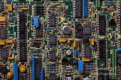 Integrated Photograph - Computer Circuit Board by Jim Corwin