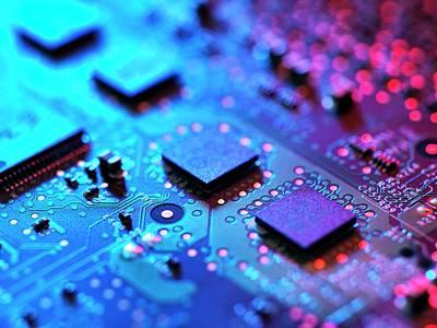 Computer Hardware Print by Tek Image