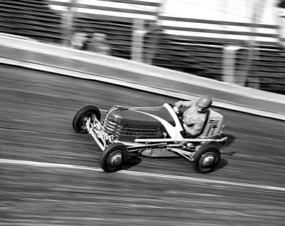 Coney Island Midget Race Car Art Print by Underwood Archives