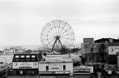 Photograph - Coney Island Overview by Dave Beckerman