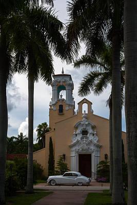 Photograph - Congregational Church Of Coral Gables by Ed Gleichman