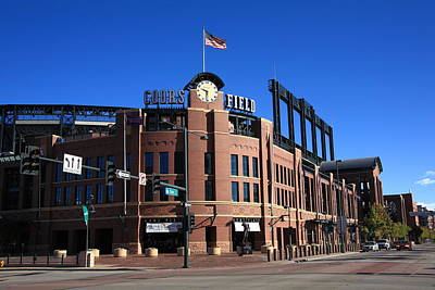 Coors Field - Colorado Rockies Art Print by Frank Romeo
