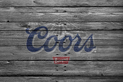 Coors Photograph - Coors by Joe Hamilton