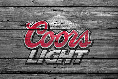 Stout Photograph - Coors Light by Joe Hamilton