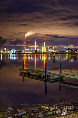 Photograph - Copenhagen Waterfront by Jorgen Norgaard
