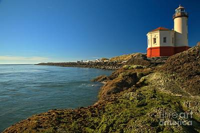 Photograph - Coquille River Lighthouse by Adam Jewell