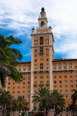 Photograph - Coral Gables Biltmore Hotel by Ed Gleichman