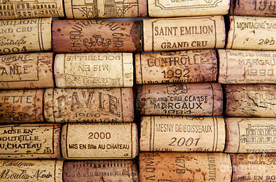 Tasting Photograph - Corks by Bernard Jaubert