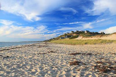 Cape Cod Bay Photograph - Corn Hill Beach Truro Cape Cod by John Burk