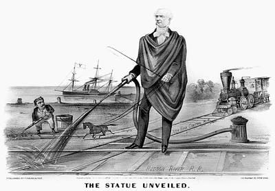 Rhodes Painting - Cornelius Vanderbilt (1794-1877) by Granger