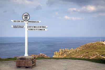 Cornwall Wall Art - Photograph - Cornwall - Land's End by Joana Kruse