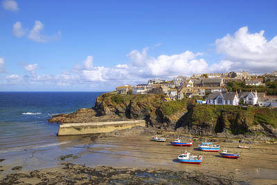 Cornwall - Port Isaac Art Print