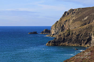 Photograph - Cornwall North Coast by Brian Roscorla