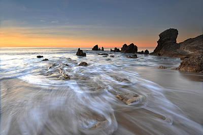 Corona Del Mar Sunrise Art Print