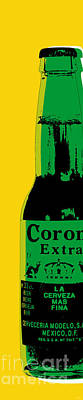 Beer Royalty-Free and Rights-Managed Images - Corona by Jean luc Comperat