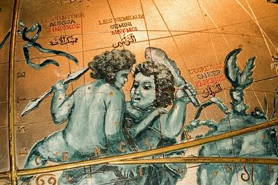 Constellations Photograph - Coronelli's Celestial Globe by David Parker