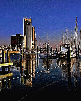 Photograph - Corpus Christi Texas  by Janet Maloy