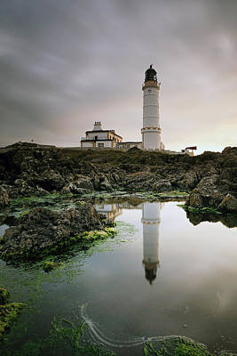 Photograph - Corsewall Lighthouse by Grant Glendinning