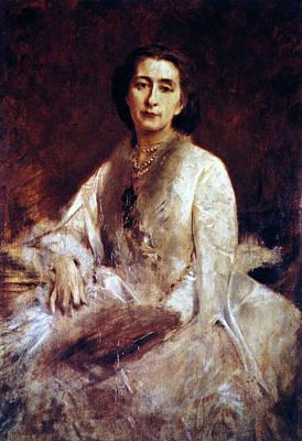 Cosima Wagner (1837-1930) Art Print by Granger