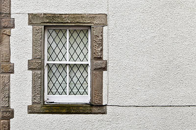 Stone Trough Photograph - Cottage Window by Tom Gowanlock
