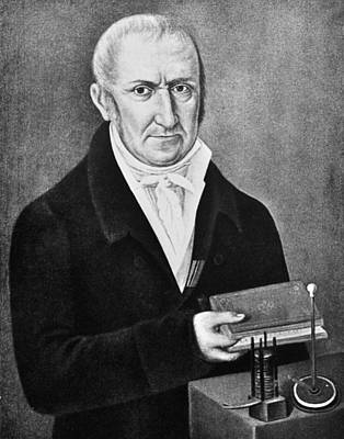 Count Alessandro Volta (1745-1827) Art Print
