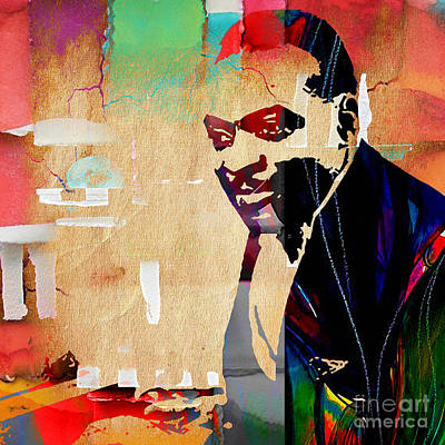 Jazz Mixed Media - Count Basie Collection by Marvin Blaine
