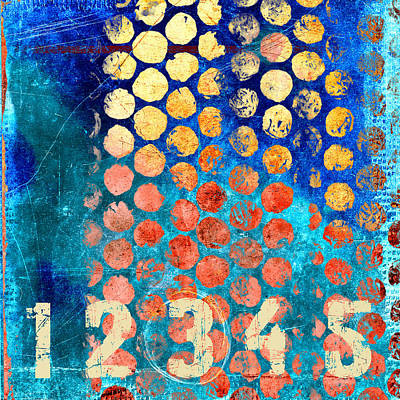 Counting Circles Art Print by Carol Leigh