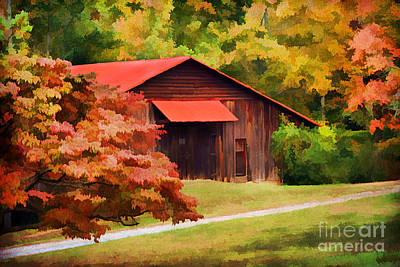 Country Charm Art Print by Darren Fisher