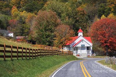 Photograph - Country Church by Jill Lang