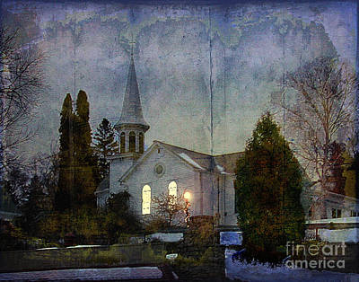 Photograph - Country Church by Jim Wright