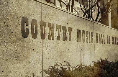 Country Music Hall Of Fame And Museum Photograph - Country Music Hall Of Fame by Dan Sproul