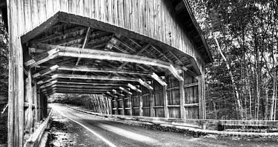 Covered Bridge At Sleeping Bear Dunes Art Print