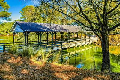 Photograph - Covered Bridge  by Ed Roberts