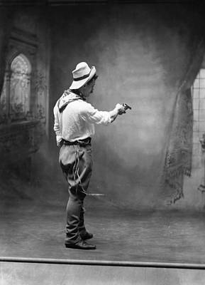 Photograph - Cowboy, C1880 by Granger