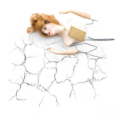 Cracked And Broken Art Print by Jorgo Photography - Wall Art Gallery