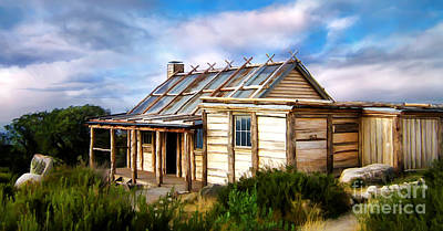 Photograph - Craigs Hut by Shannon Rogers