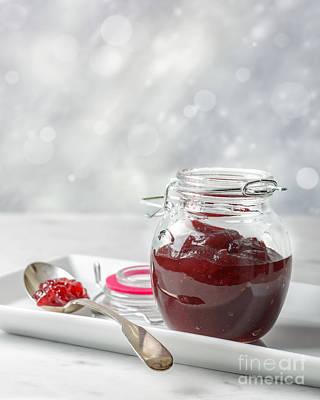 Cranberry Sauce Print by Amanda Elwell