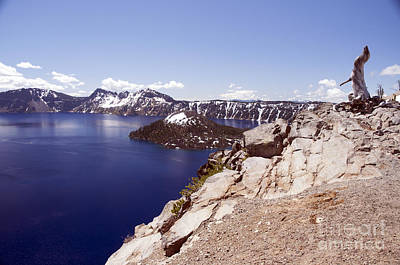Photograph - 814p Crater Lake Oregon by NightVisions