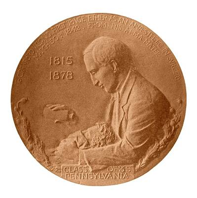 Medallion Photograph - Crawford Long by National Library Of Medicine