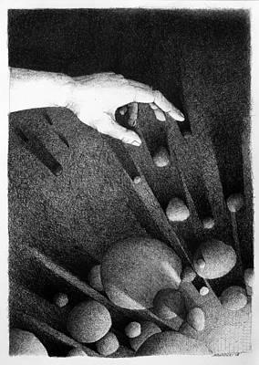 Drawing - Creator  by Mariusz Zawadzki
