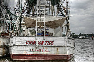 Photograph - Crimson Tide On The Bon Secour by Lynn Jordan