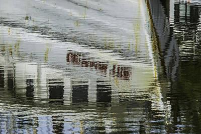 Digital Art - Crimson Tide Reflection by Michael Thomas