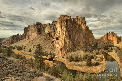 Photograph - Crooked River Bend by Adam Jewell