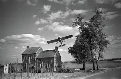 Bridgetown Photograph - Crop Dusting, 1938 by Granger