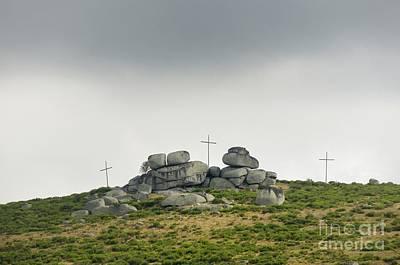 Cross-cap Photograph - Cross by Bernard Jaubert