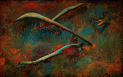 Digital Art - Cross Flow by Greg Sharpe